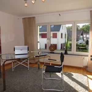 Arbeitszimmer, Büro nach dem Home Staging, gepflegt, klare Funktion, hell